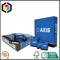 Blue Color Printed Corrugated Carton Box; Cardboard Packaging Box Manufactures