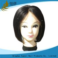 China Fashion Short Style Human Hair Bob Wigs , African American Human Hair Weave on sale