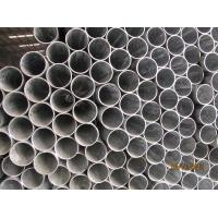 High Toughness Galvanised Steel Pipe Threaded / Plain End Coating Uniformity Manufactures