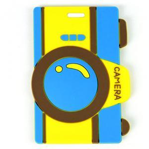 2014 Custom blue 10.5*5.5*0.5 cm Baggage Tag Manufactures