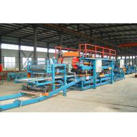 Computer Control Sandwich Panel Roll Forming Machine With Sheet Shearing Machine Manufactures