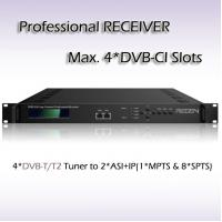 RSR1104 DVB-T/T2 Four-Channel Professional Receiver UDP/RTSP RTP IP Unicast and multicast modes supported for IP output Manufactures