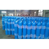 Blue Color Customized Seamless Steel Compressed Gas Cylinder 8L - 22.3L ISO9809-3 Manufactures