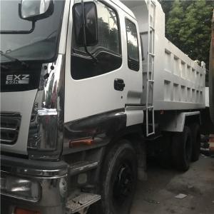 Used ISUZU RHD Manual Transmission Red NISSAN  6*4 8x4 Dump 12 Wheels Tipper Truck For Africa Manufactures