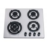 60CM 4 Burner Stainless Steel Gas Hob , Four Burner Stove Top For Home Kitchen Manufactures