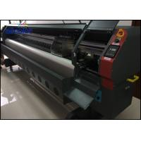 Quality 3.2m Outdoor Flex Banner Solvent Inkjet Printer With 4 Pcs Or 8 Pcs Printhead for sale