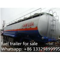 3 axles fuel semitrailers exported to Africa, hot sale fuel tank semitrailer, Manufactures
