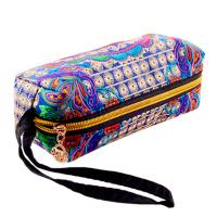 Buy cheap wholesale canvas embroidery stationery colored pencil set cosmetic bag from wholesalers