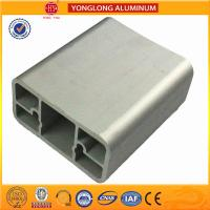 Silver Bronze Champange Anodized Aluminum Door Frame Profiles Corrosion Resistant Manufactures