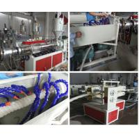 Buy cheap Energy Saving Pipe Production Line / PE Carbon Reinforced Spiral Pipe Machine from wholesalers