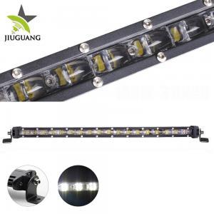 High Power Slim Led Light Bar Black Housing Color 500 * 50 * 30 Mm