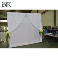 event pipe and drape flower backdrop event decoration tent pipe fittings Manufactures