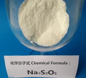 Leather treatment Sodium Metabisulfite Industrial Grade 4.5 PH Value CAS 7681-57-4 Manufactures