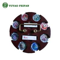 SGS Approval Customized 200 Pcs Casino Poker Chip Sets With Round Wooden Tray Manufactures