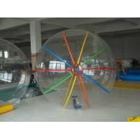Beach PVC Inflatable Water Toys Walking Water Balls For Adults 2 Meters Diameter Manufactures