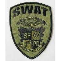 Custom logo patch sew on embroidery patches from quality factory Manufactures