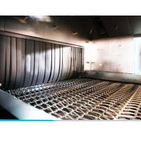Continuous Feed Tunnel Type Wire Mesh Shot Blasting Machine For Automotive Wheels Manufactures