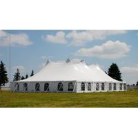 Buy cheap High Strength White PVC Tarpaulin Tent for Exhibition or Wedding Events from wholesalers