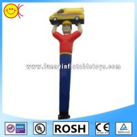 Rip Stop Nylon Inflatable Dancing Man , Inflatable Waving Man Car Show Use Manufactures