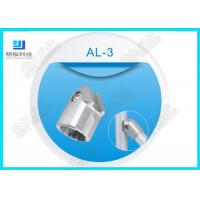 Silver Color Aluminum Tubing Joints AL-3 Tube Female Connector Die Casting Manufactures
