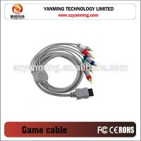 5RCA av cable for Nintendo Wii game player Manufactures