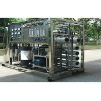 Mobile RO Seawater Reverse Osmosis Desalination Equipment , Water Purifier Systems Manufactures