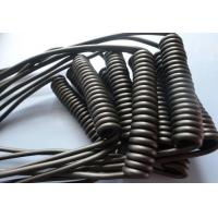 Retractable Spiral Power Cable , 2 Core Coiled Electrical Cord High Flexibility Manufactures