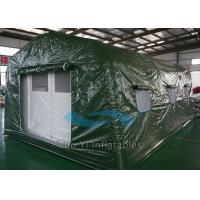 Quality Lightweight Large Airtight Inflatable Tents For Emergency / Army / Medical for sale