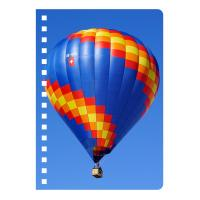 Eco-friendly PET 3D Lenticular Notebook , Custom Print A5 Exercise Book Manufactures