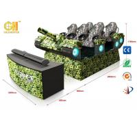9D Simulator Virtual Movie Theater6dof Electric System With 6 Luxury Seats