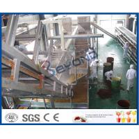 China Apple / Pear Juice Fruit Processing Equipment For Juice Processing Line on sale