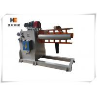 Quality 5 Ton 1300mm Automatic Motorised Decoiler Machine Hydraulic Expansion With Coil for sale