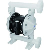 Plastic Air Driven Double Diaphragm Pump For High Temperature Liquid Manufactures