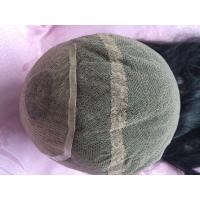 Elegant-wig Quality Virgin Indian Hair Swiss Lace Silk Top Full Head Toupee For Women Manufactures