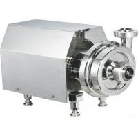 Buy cheap Stainless Steel Centrifugal Pump , Food Grade Transfer Pump For Juice / Milk from wholesalers