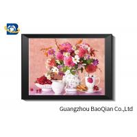 Eco - friendly Flowers 3D Lenticular Pictures For Home Decoration A3 A4 Size Manufactures