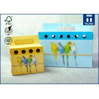 The Shape Of The Peculiar Art Paper Christmas Gift Box / Holiday, Toy Packaging Boutique Box Manufactures