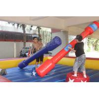 China Red and Blue Gladiator Joust Inflatable Sport Games for Kids and Adults on sale