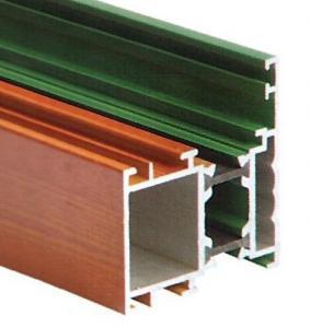High Intensity Aluminum Extrusion Profiles Black / Golden / Silver Manufactures