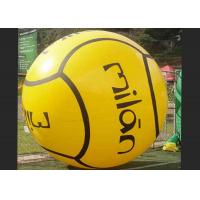 Yellow Inflatable Water Walking Ball 1.0 Mm Pvc 45*30*30cm CE Manufactures