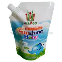 producer of stand up spout pouches,  200/500/1000/1500/2000ml, for washing liquid packing Manufactures