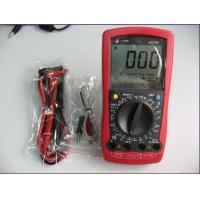 Professional Automotive Digital Multimeter Ut106 3-1/2 Digits Manual Ranging Meter Manufactures