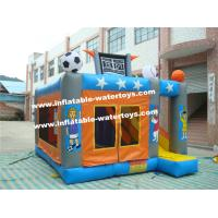 Commercial 0.55mm PVC Tarpaulin (18oz) Inflatable Water Park Trampoline Bouncy House Manufactures