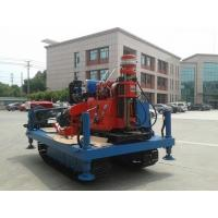 Quality Spindle Rotary Crawler Drilling Rig Max Torque 2760 N.m , Mobile Drilling Rig for sale