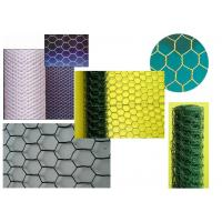 Galvanized Hexagonal Chicken Wire Netting Green 25 mm with PVC Coated Manufactures