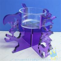 CH (19) Acrylic goblet candle holder Manufactures