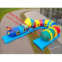 Inflatable caterpillar obstacle course Manufactures