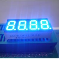 """Four Digit 0.36"""" Common Cathode 7 Segment Display For Medical Instrument Manufactures"""