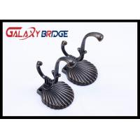 Black Zinc Alloy Cloth Hanging Hooks Classical Cap Hangers Roma Style Clothes Holders Manufactures