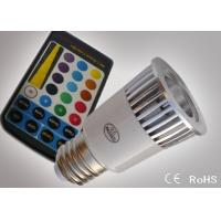 E27 Colour Changing Led Lights 5W Led Colour Changing Night Light ATF-RGB5WE27 Manufactures